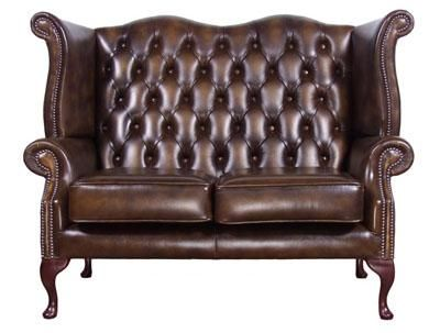 Amazing Cool Antique Leather Sofa Fabulous Furniture Queen Anne Bralicious Painted Fabric Chair Ideas Braliciousco