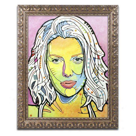 Trademark Fine Art Skin Deep Canvas Art by Dean Russo, Gold Ornate ...