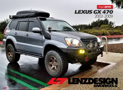 US STOCK Roof Rack Cap End for Lexus GX 470//Toyota Land Cruiser Prado J120 03-09