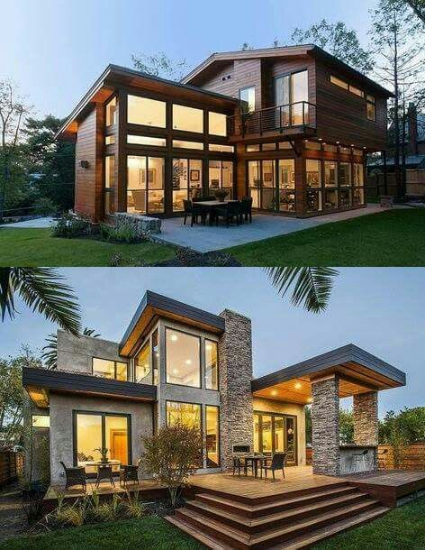 Love Makale 4 Love House Designs Exterior Architecture House Modern House Design