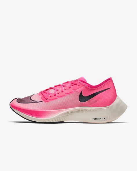 The Nike nike ZOOM FLY FLYKNIT zoom fly fly knit relay road race pack running shoes shoes men man land, running article