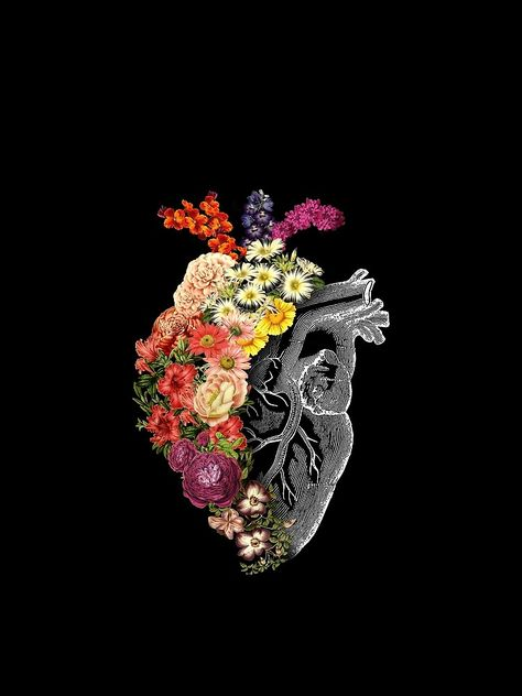 Flower Heart Spring Chiffon Top