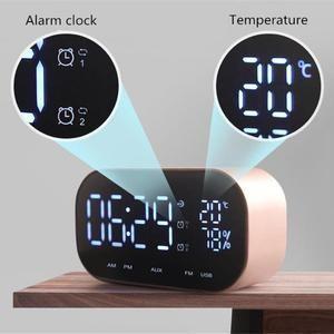 Wohnkultur Lautsprecher Wecker Wireless 4 Varianten Walltreatment Rabatt 10 Uhren Korb Und Kiste Wandbehandlung