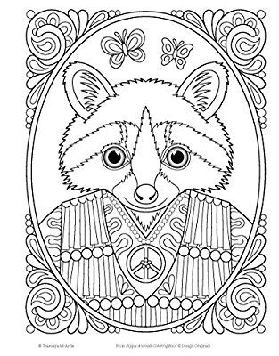 Animal Coloring Designs