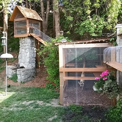 I felt so bad for my indoor cats and finally decided to build them their own Easy DIY Cat Enclosure to keep them happy and safe in our city neighborhood.