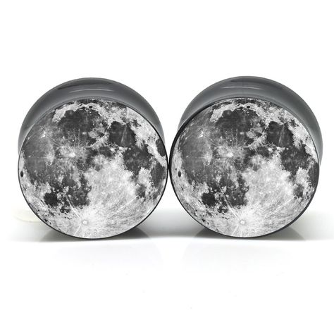 Moon Ear Plugs OMG I MUST HAVE THESE!!!!!!!!!!!