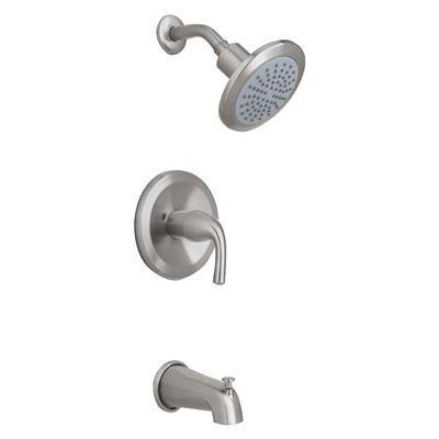 Aquasource Tub Shower Faucet Set F1aa0000 1 Handle Tub And