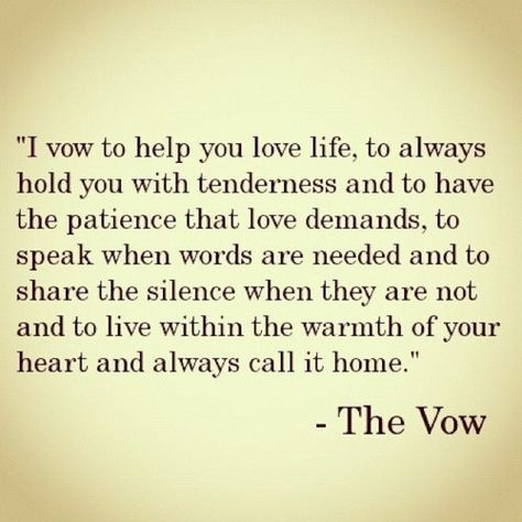 The Vow....loved this movie.
