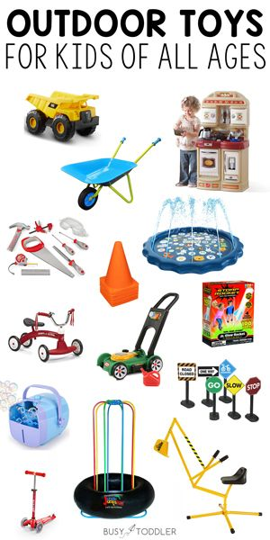 40 Outdoor Toys For Kids That You Ll Own For Years Busy Toddler Outdoor Toys For Kids Outdoor Toys For Toddlers Outdoor Toys
