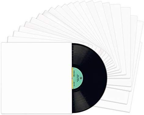 Amazon Com Tunephonik 12 Lp Vinyl Record Jackets White Coated W No Center Hole 25 Pack Electronics Vinyl Records Lp Vinyl Record Jacket