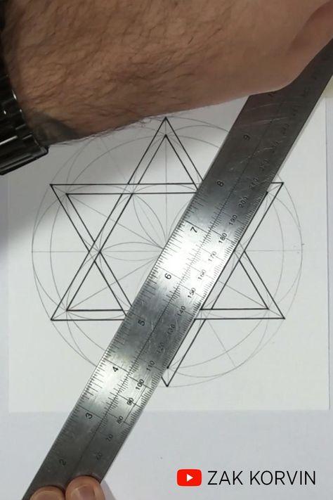 The Sacred Geometry of a Hexagram | Art Meditation