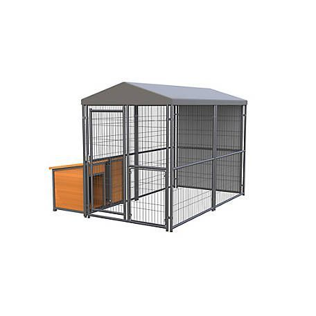 Retriever Lodge Expandable Kennel 10 Ft L X 5 Ft W X 6 Ft H At Tractor Supply Co Dogcratetractorsupply Kennel Dog Pen Retriever