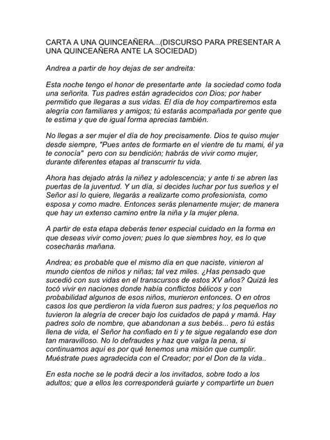Carta A Una Quinceañera Discurso Para Presentar A Una Quinceañera Ante Frases Para Quinceañeras Felicitaciones Para Quinceañeras Mensajes Para Quinceañeras