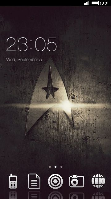 Download Free Android Theme Star Trek CLauncher | Download