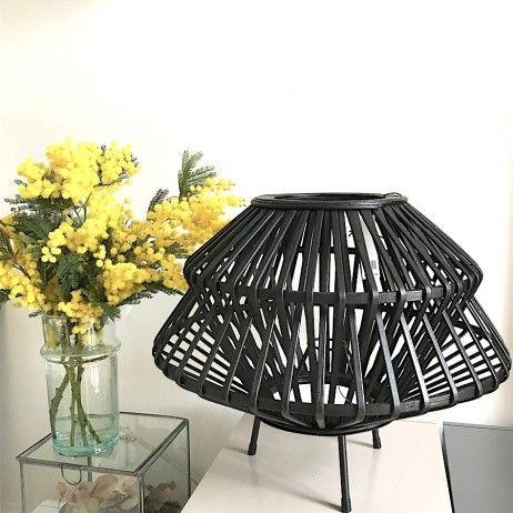 Lampe A Poser En Bambou Madam Stoltz Lamp Luminaire Bambou