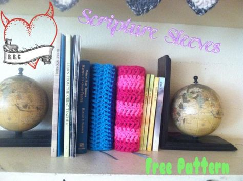 Scripture sleeves. His and hers. - The Yarn Box The Yarn Box