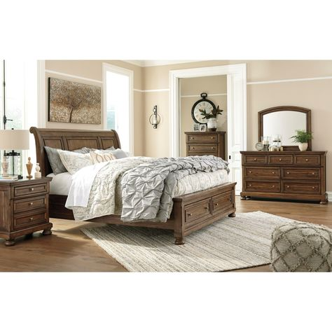 Flynnter Queen Bedroom Group By Signature Design By Ashley Coastal