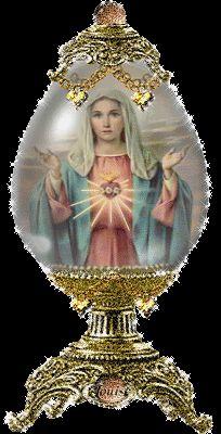 Virgen bendice a toda la humanidad