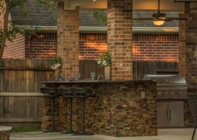 Houston Outdoor Kitchen Gallery Home Richard S Total Backyard Solutions In 2020 Outdoor Kitchen Kitchen Gallery Backyard