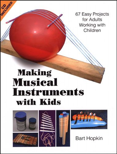 The Secret of my Success – Bart Hopkin! | http://childsplaymusic.com.au/ Need to know the best books to learn how to build instruments for and with children? This review of 3 books by Bart Hopkin is for you! Easy to understand yet hugely detailed, these books don't require you to have great skills to build great instruments. #teachers #kindergarten #music #school #children