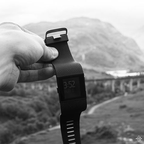 Cycling The Sights Of Scotland With Fitbit Surge Fitbit Burn