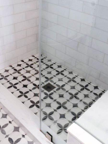 Top 50 Best Shower Floor Tile Ideas Bathroom Flooring Designs Shower Floor Shower Floor Tile Shower Floor Tile Ideas New top ceramic bathroom floor