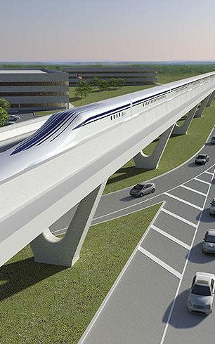 This maglev train project backed by some powerful names could zip commuters along the Northeast corridor.