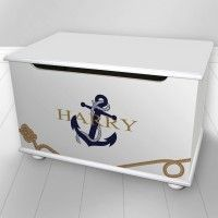 Nautical Design Toy Box from: £229.95 5 designs to choose from