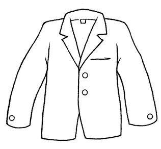 Dibujos Para Colorear Fichas De Prendas De Vestir Escuela En La Nube Recursos Para Infantil Y Primaria Prendas De Vestir Prendas De Ropa Chaquetas