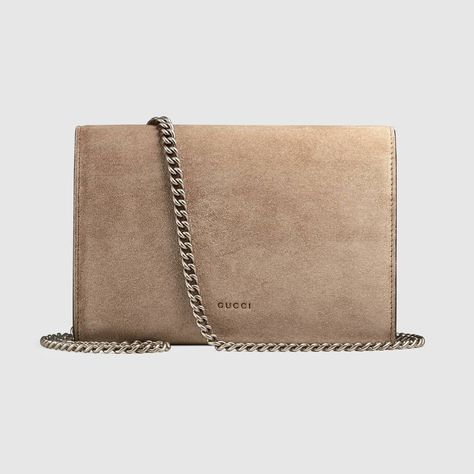 3108486e1be Shop the Dionysus suede mini chain bag by Gucci. A structured suede chain  mini bag or wallet with our textured tiger head spur closure-a unique  detail ...