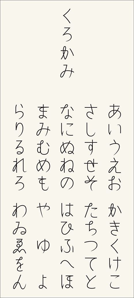 Japanese Letters Written In A Handy Way フォント 字体 デザイン フォント おしゃれ