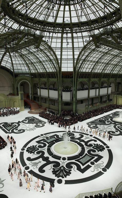 Chanel S/S 2011, a french garden, Grand Palais, Paris