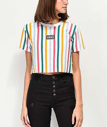 t shirt vans multicolor