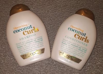 Review Ogx Beauty Quenching Coconut Curls Coconut Shampoo