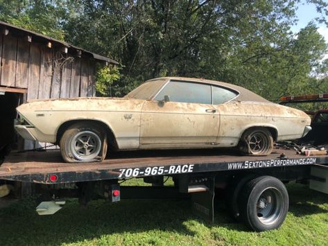Real Deal 1969 Chevrolet Chevelle Ss396 Barn Find Chevrolet Chevelle Chevelle Barn Find Cars