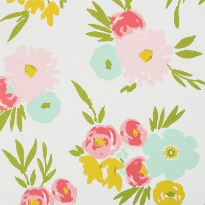 Find Product Information Ratings And Reviews For Peel Stick Wallpaper Floral Fields Cloud Is Floral Wallpaper Girl Floral Bedroom Peel And Stick Wallpaper