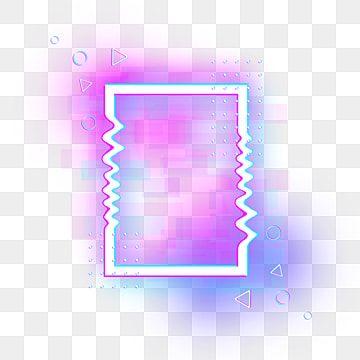 Borde De Falla De Neon Colorido Rectangular Deslumbrante Mal Funcionamiento Brillo De Neon Png Y Psd Para Descargar Gratis Pngtree In 2021 Web Design Marketing Colorful Backgrounds Neon