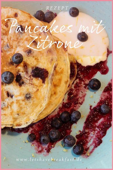Rezept für Pfannkuchen: Einfach, lecker, proteinreich und zitronig