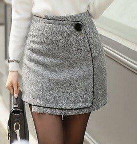 ac77887f7 Mini falda cruzada tipo sobre   LAURA'S STYLE-ESH. GOAL   Faldas ...