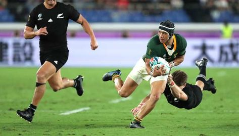 Rwc 2019 Cheslin Kolbe Hands Springboks Big Boost Saying He Avoided Injury Against All Blacks All Blacks Springbok Rugby Rugby