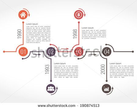 9 best shutterstock images on Pinterest Design patterns, Design - sample powerpoint timeline