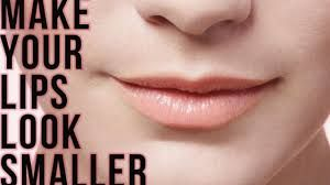 How To Make Your Lips Look Smaller Your Lips Without Makeup Lips