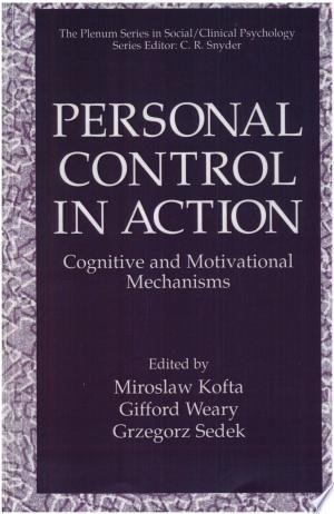 Personal Control In Action Pdf By Miroslaw Kofta Gifford Weary