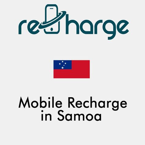 Mobile Recharge in Samoa. Use our website with easy steps to recharge your mobile in Samoa. Mobile Top-up Instant & Worldwide. You may call it mobile recharge, mobile top up, mobile airtime, mobile credit, mobile load or whatever you want #mobilerecharge #rechargemobiles https://recharge-mobiles.com/