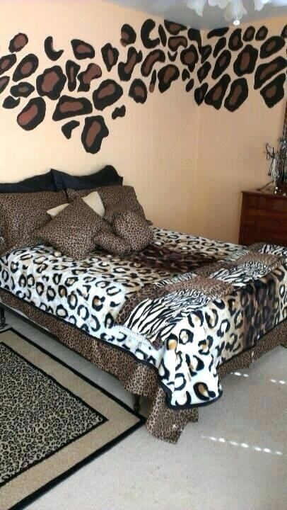 Leopard Print Ideas For Bedroom With Images Animal Print
