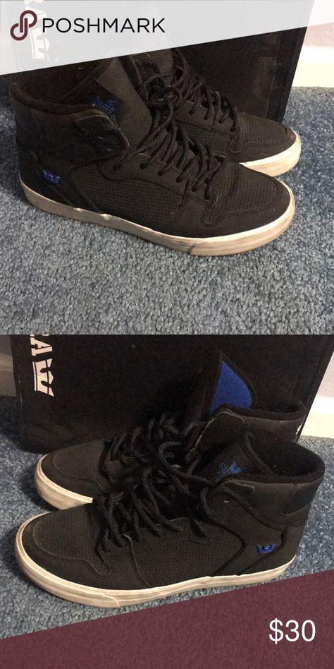 ec0949fbc4d3 Supra Black and blue Supra s Supra Shoes Sneakers