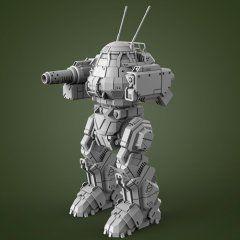 mechwarrior 3d models for