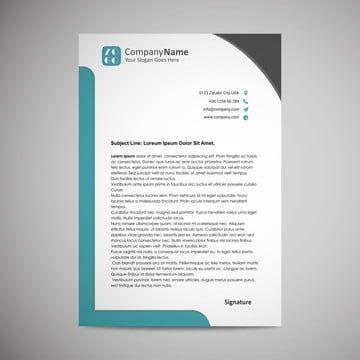 Papel Timbrado De Negocios In 2020 Company Letterhead Template Letterhead Template Letterhead