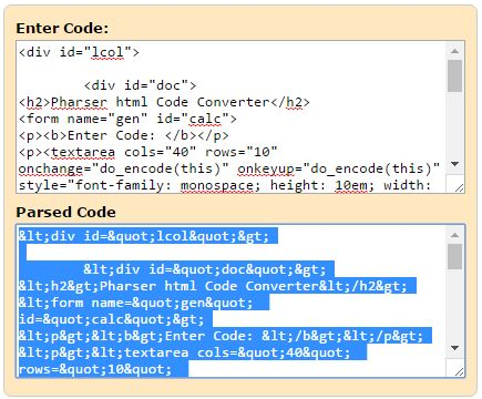 HTML to XML Parser Code Converter html parser generator HTML - kg to lbs chart template