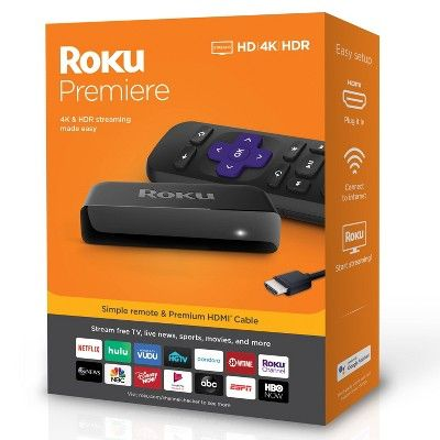 Roku Premiere Streaming Player In 2020 Streaming Media Roku Streaming Stick Streaming Stick